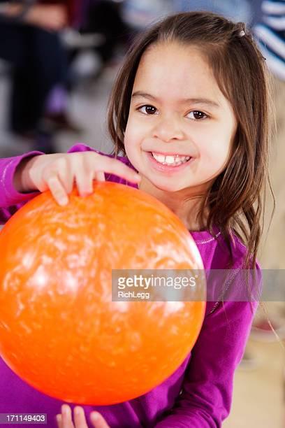 Little Girl Bowler