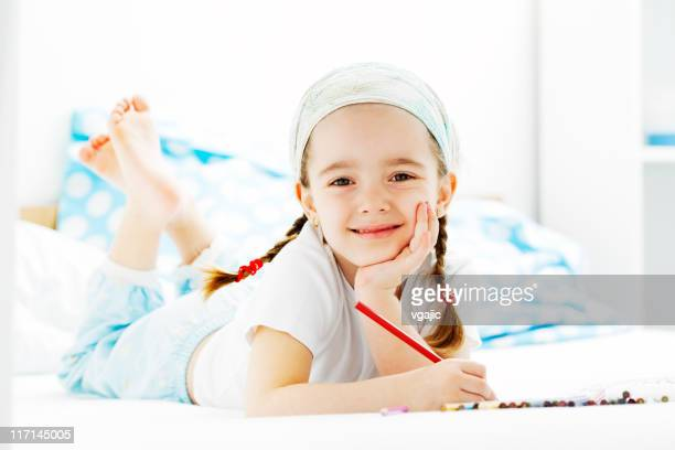 Kleines Mädchen Malbuch