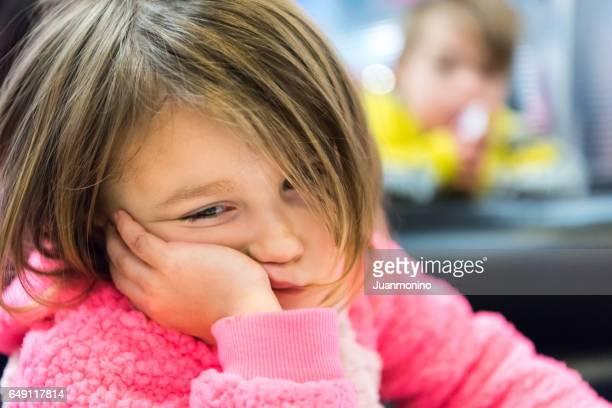 Kleine meisje huilen