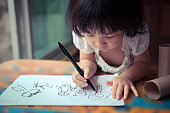 little girl drawing (IMG_3100)