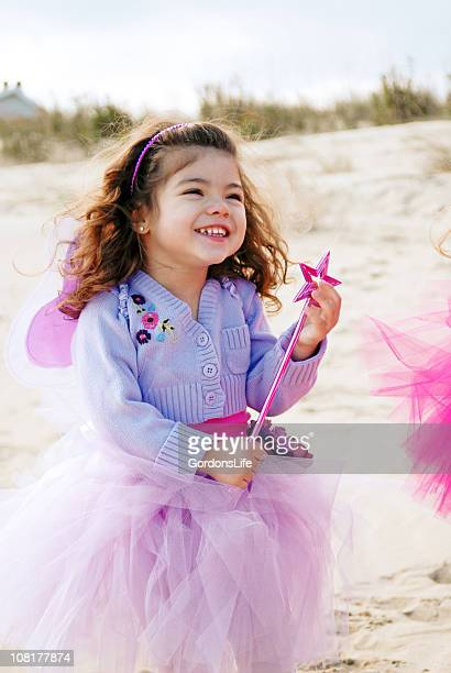 Little Girl Dressed as Fairy Princess