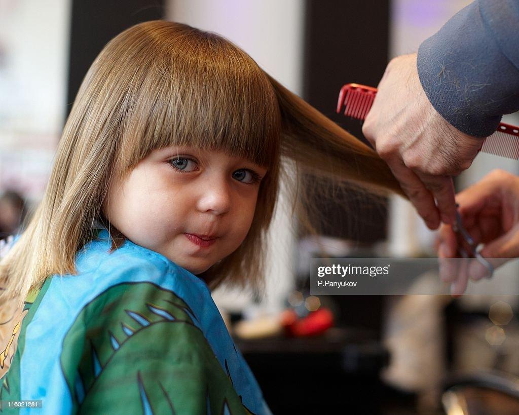 Little Girl First Haircut