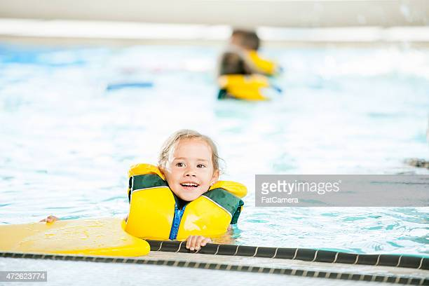 Little Girl in Pool