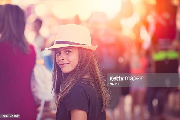 Little Girl in the Crowd