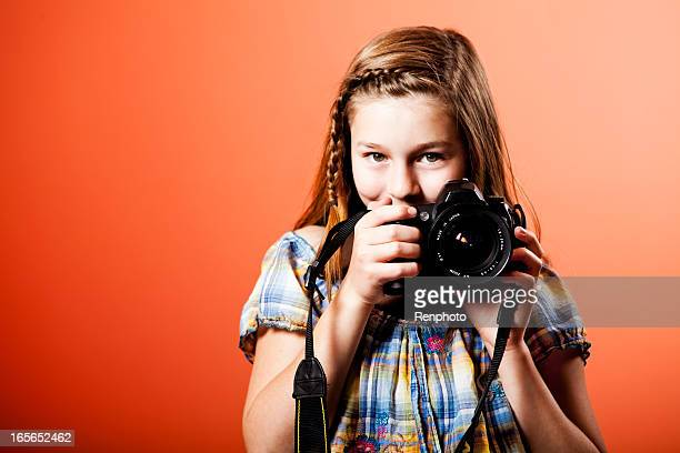 Little Girl Photographer