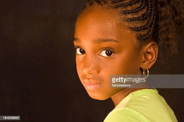 Kleines Mädchen, Porträt
