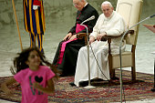 Weekly Audience Attended By Pope Francis