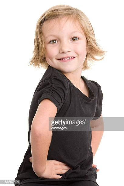 Little Girl WIth Hands On Hips
