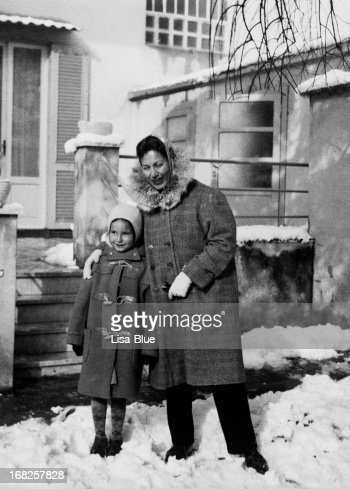 Little Girl with her Mother in 1955