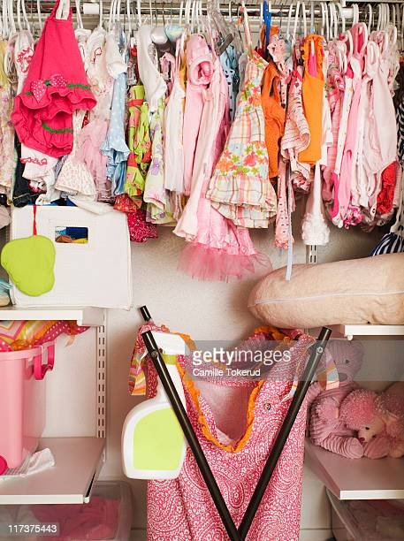 Little girl's closet