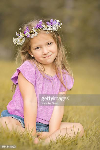 Little Hippie Flower Child