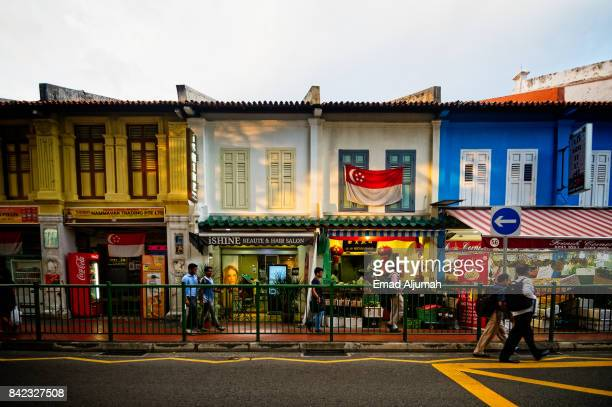 Little India, Singapore - August 24, 2017