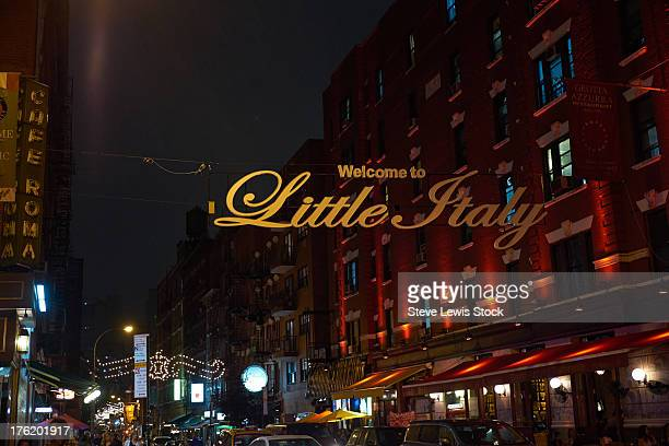 Little Italy sign.