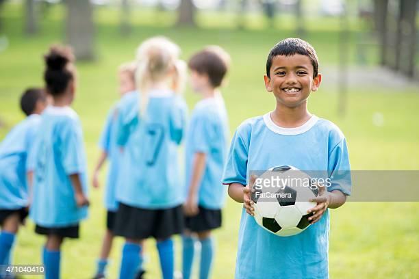 Pequeña Liga de fútbol de los niños