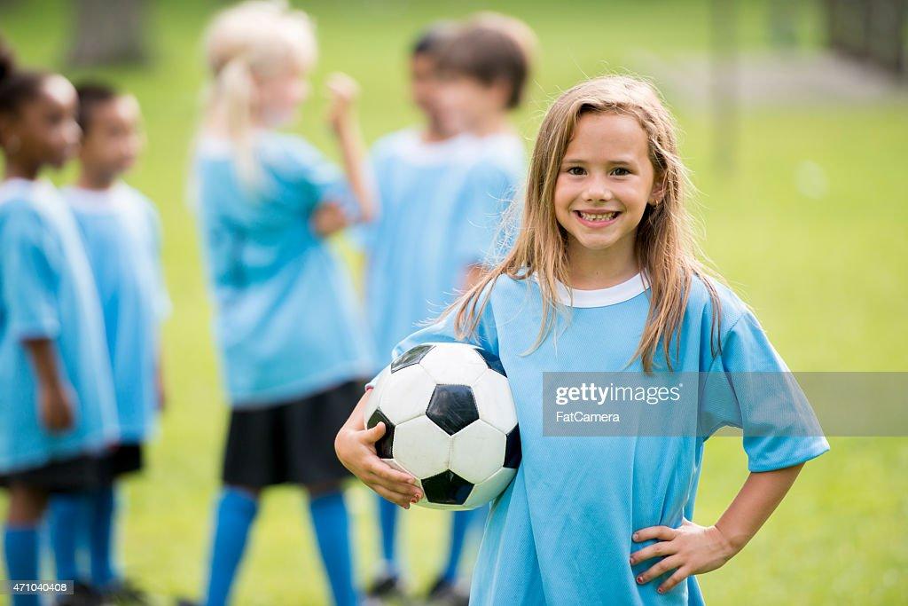 Little Kids Soccer : Stock Photo