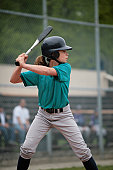 Little League Batter up at Bat