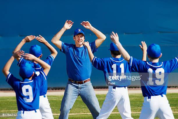Little League Team Training