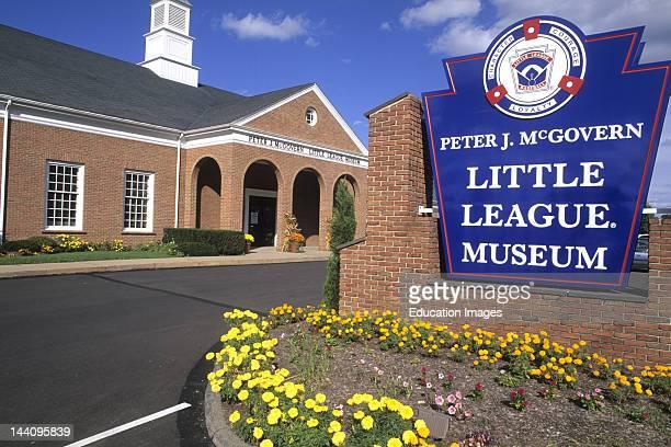 Little League World Series Museum In Williamsport Pennsylvania