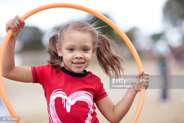 Little miss hoola hoop