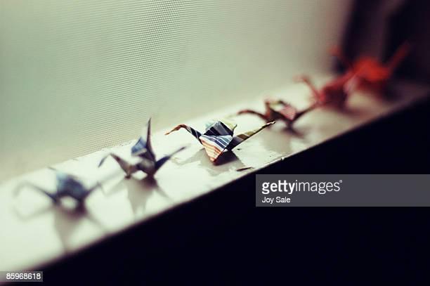 Little Origami Paper Cranes