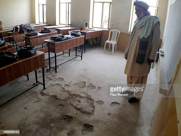 A little over two years after Canadian aid built Kandahar's brand new Mohmood Tarzee High School its shoddy concrete is crumbling the poor...