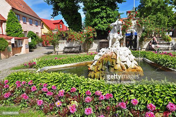 Little park in Visby Gotland