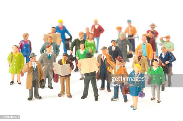 Little People crowd figurines