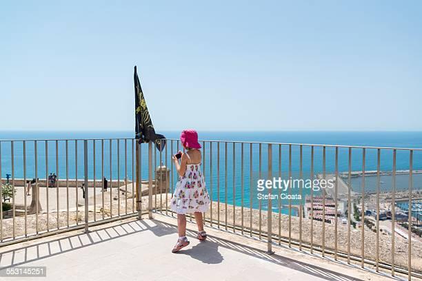 Little photographer in Alicante