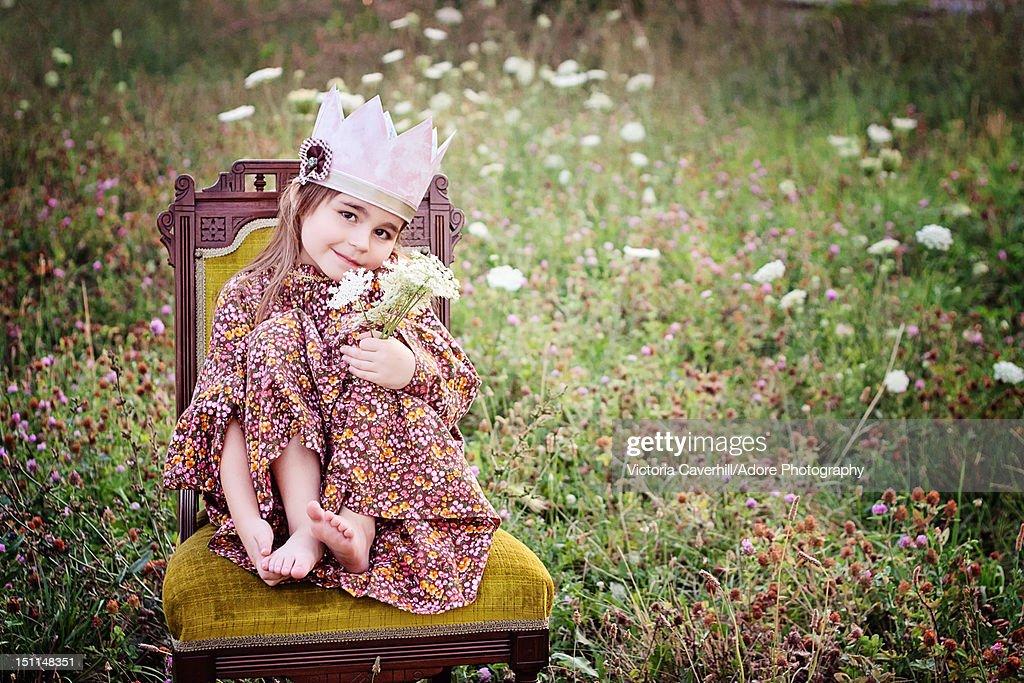 Little princess : Stock Photo