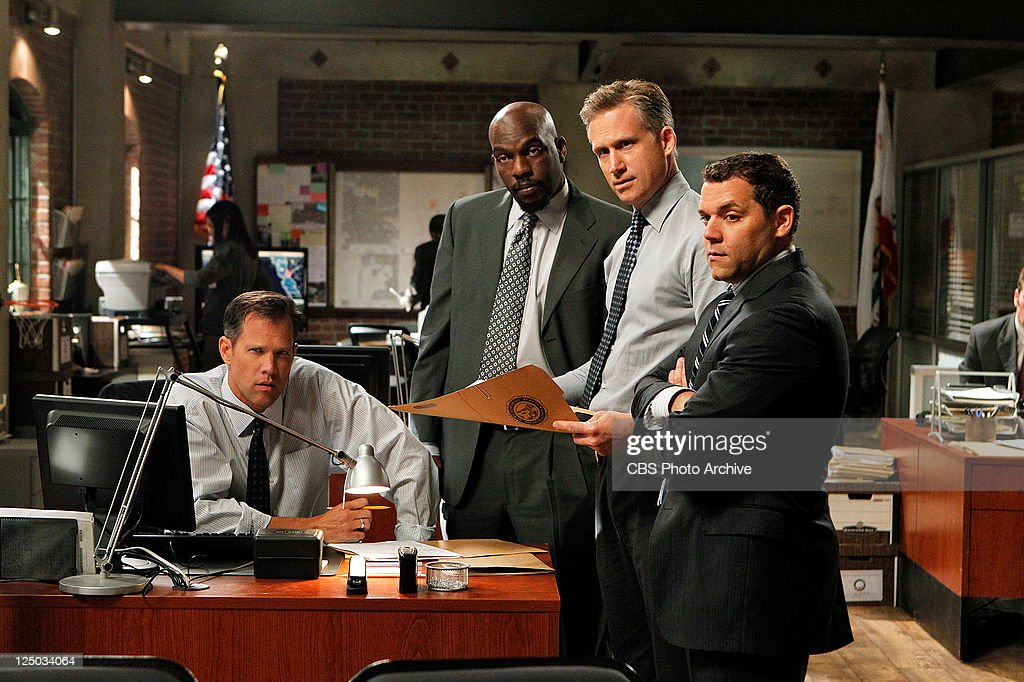 'Little Red Book' --In spite of the new supervising agent Ray Haffner (Reed Diamond, second from right), Jane conspires to bring his former team back together, on THE MENTALIST, Thursday, Sept. 29 (10:00-11:00 PM, ET/PT) on the CBS Television Network. Also pictured: LtoR: Rick Peters as Agent Masterson, Omar Dorsey as Agent Niskin, and Josh Bitton as Agent Tork