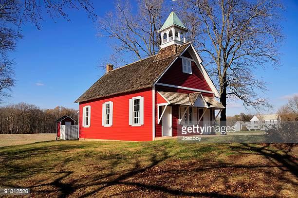 Little Red Schoolhouse Horizontal