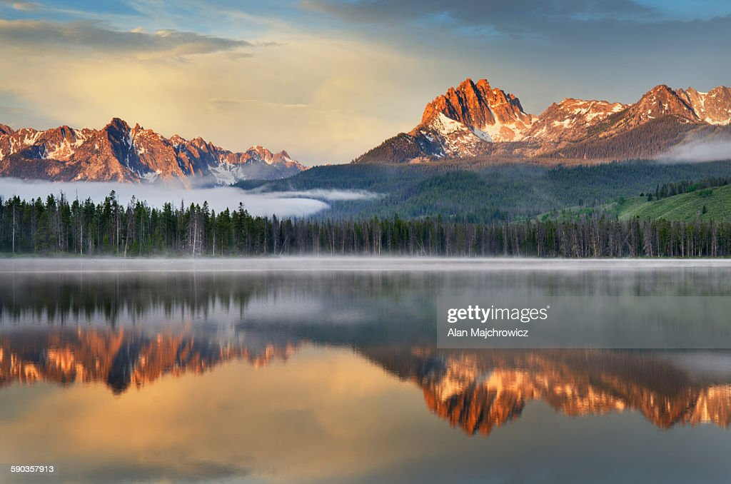 Little Redfish Lake, Sawtooth Mountains Idaho