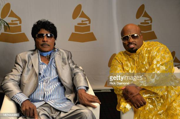 Little Richard and CeeLo Green attend 'The Legacy Lounge' A conversation with CeeLo Green and his inspiration at W Atlanta Downtown on September 29...