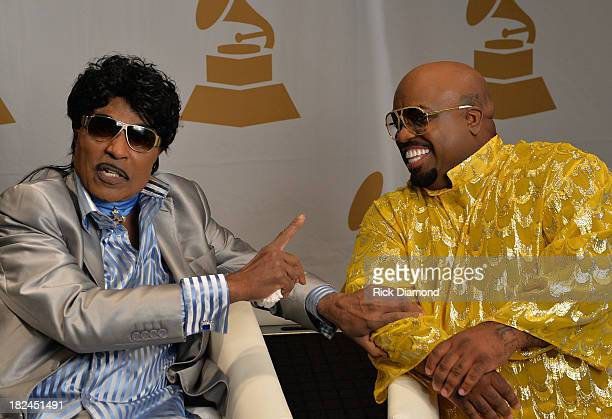 Little Richard and CeeLo Green chat backstage at 'The Legacy Lounge' A conversation with CeeLo Green and his inspiration at W Atlanta Downtown on...