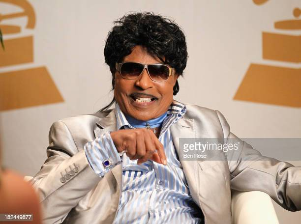 Little Richard attends 'The Legacy Lounge' A conversation with CeeLo Green and his inspiration at W Atlanta Downtown on September 29 2013 in Atlanta...