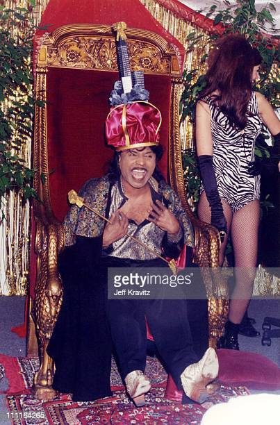 Little Richard during Launch Party of Rocktropolis in Los Angeles California United States