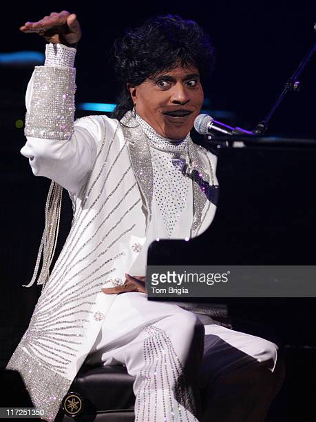 Little Richard during Little Richard in Concert at the House of Blues in Atlantic City May 13 2006 at House of Blues in Atlantic City New Jersey...