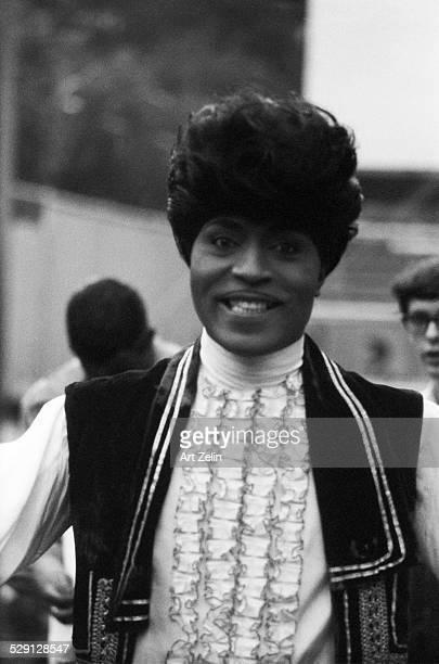 Little Richard in ruffled shirt circa 1970 New York