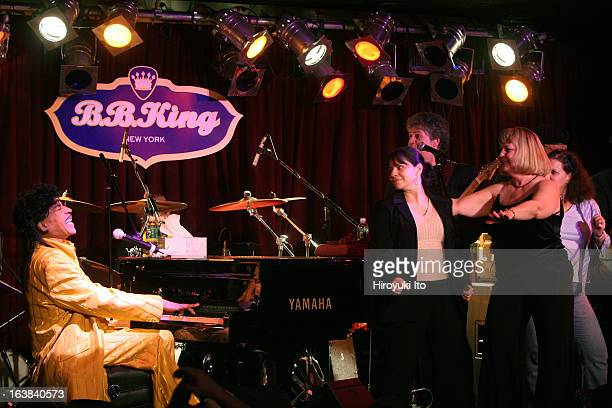 Little Richard performing at BB King Blues Club on Monday night January 15 2007This imageMr Richard invited ladies from the audience to the stage and...