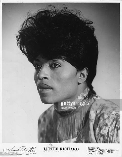 Little Richard studio portrait USA 1960