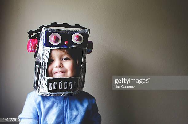 Little Robot Kid