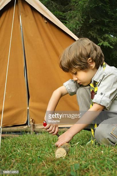Little boy scout