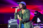 Little Simz performs at the 2016 Essence Music Festival at the MercedesBenz Superdome on July 3 2016 in New Orleans Louisiana
