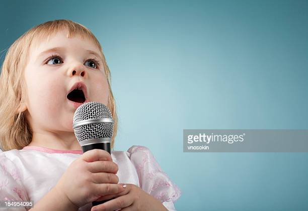 Little singing girl