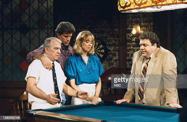 CHEERS 'Little Sister Don't Cha' Episode 2 Air Date Pictured Nicholas Colasanto as Ernie 'Coach' Pantusso Ted Danson as Sam Malone Shelley Long as...