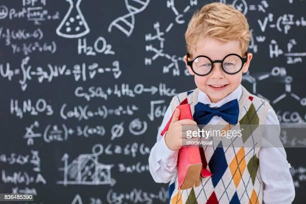 Little smart man