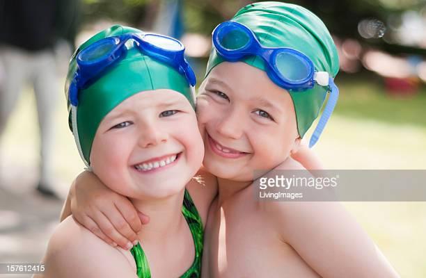 Kleine Schwimmer