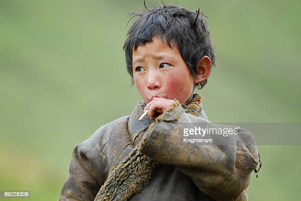 Little Tibetan Boy