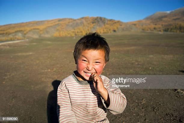 Little Tuvans Boy