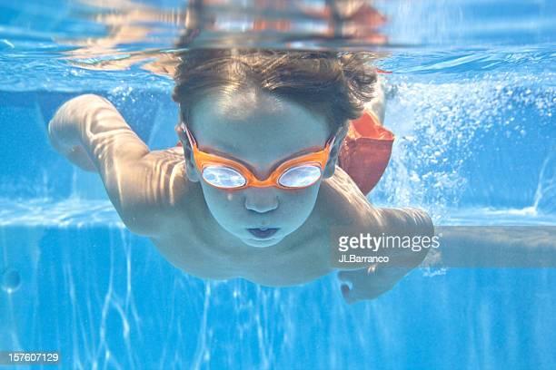 Little Underwater Swimmer